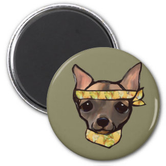 FAMOUS CLIFF- SOLDIER 2 INCH ROUND MAGNET