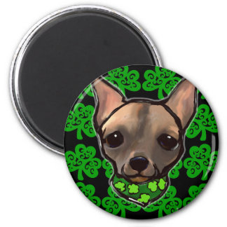 FAMOUS CLIFF - ST. PATTY 2 INCH ROUND MAGNET