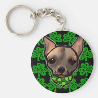 FAMOUS CLIFF - ST. PATTY KEYCHAIN