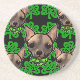 FAMOUS CLIFF ST PATTYS DAY 2 BEVERAGE COASTERS