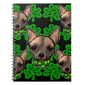 FAMOUS CLIFF ST PATTYS DAY 2 SPIRAL NOTEBOOK