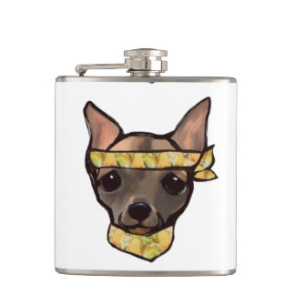 FAMOUS CLIFF THE SOLDIER WHISKEY FLASK