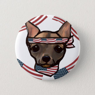FAMOUS CLIFF USA 2 INCH ROUND BUTTON