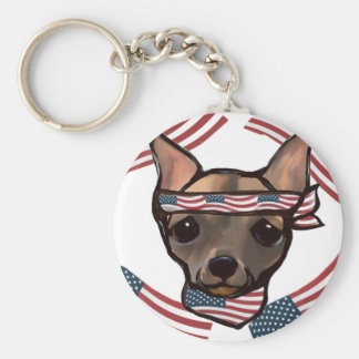 FAMOUS CLIFF USA KEYCHAIN