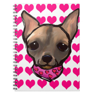 FAMOUS CLIFF VALENTINES DAY NOTEBOOK