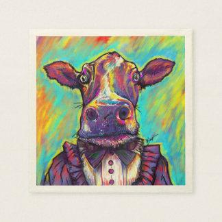 Famous Cow Cocktail Napkins Paper Napkins