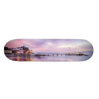 Famous Cromer pier in Norfolk England Skate Board
