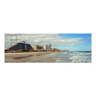 Famous Daytona Beach Florida Poster
