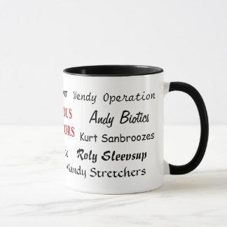 Famous Doctors - Funny Doctor Names Mug
