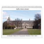 Famous Dublin Ireland landmarks Wall Calendar