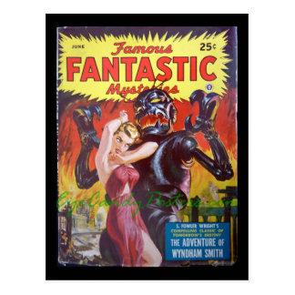 Famous Fantastic Mysteries 13_Pulp Art Postcard