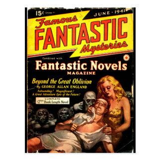 Famous Fantastic Mysteries 2_Pulp Art Postcard