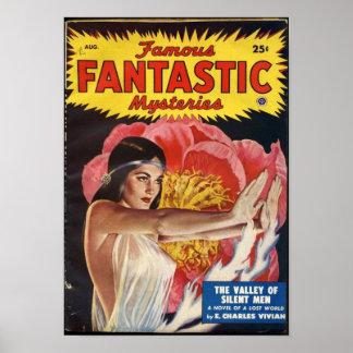 Famous Fantastic Mysteries -- Silent Men Poster