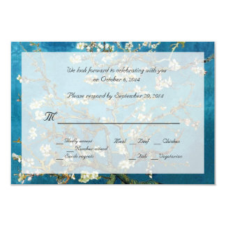 Famous fine art RSVP wedding invitations