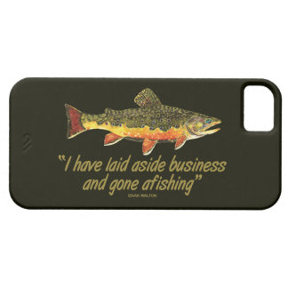 Famous Fishing Quote iPhone 5 Cover