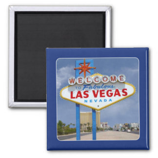Famous Las Vegas NV Sign Travel Souvenir Magnet