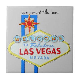 Famous Las Vegas Sign Tile