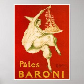 Famous Leonetto Cappiello Italian pasta ad Poster