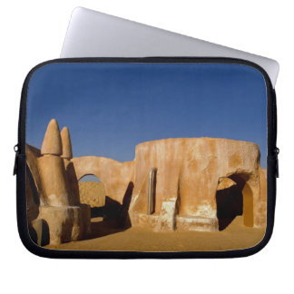 Famous movie set of Star Wars movies in Sahara Laptop Computer Sleeves