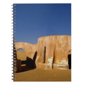 Famous movie set of Star Wars movies in Sahara Notebook