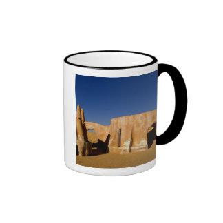 Famous movie set of Star Wars movies in Sahara Ringer Coffee Mug