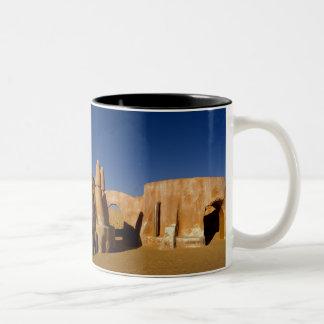 Famous movie set of Star Wars movies in Sahara Two-Tone Coffee Mug