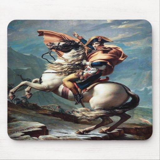 Famous Napoleonic Painting Mousepad