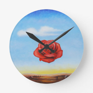 famous paint surrealist rose from spain clocks