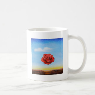famous paint surrealist rose from spain coffee mug