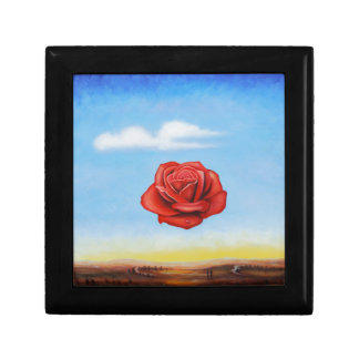 famous paint surrealist rose from spain gift box