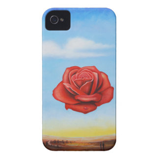 famous paint surrealist rose from spain iPhone 4 case