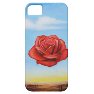 famous paint surrealist rose from spain iPhone 5 case
