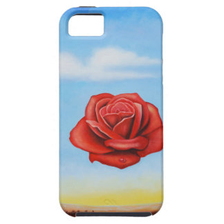 famous paint surrealist rose from spain iPhone 5 cover