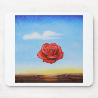 famous paint surrealist rose from spain mouse pad