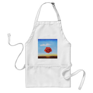 famous paint surrealist rose from spain standard apron