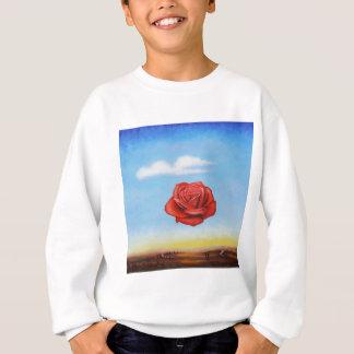 famous paint surrealist rose from spain sweatshirt