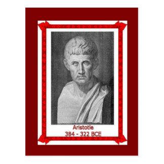 Famous people, Aristotle 384 - 322 BCE Postcard