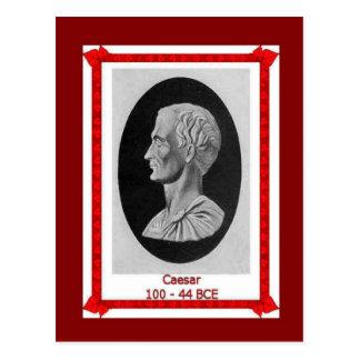 Famous people, Julius Caesar 100 - 44 BCE Postcard