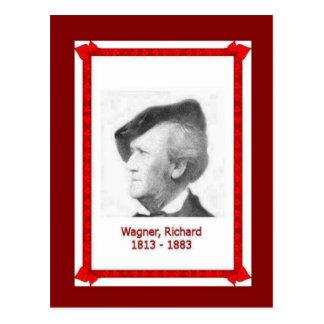 Famous people, Richard Wagner 1813 - 1883 Postcard