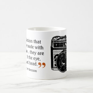 Famous Photographer's Quote 1 Vintage Camera Image Coffee Mug