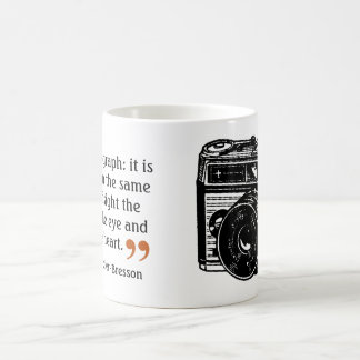 Famous Photographer's Quote 2 Vintage Camera Image Coffee Mug