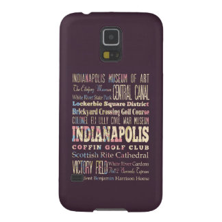 Famous Places of Indianapolis, Indiana. Cases For Galaxy S5