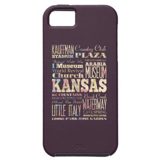 Famous Places of Kansas, United States. iPhone 5 Covers