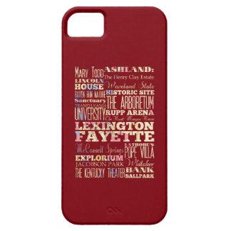 Famous Places of Lexington Fayette, Kentucky. iPhone 5 Case