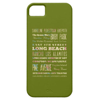 Famous Places of Long Beach, California. iPhone 5 Cases