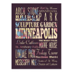 Famous Places of Minneapolis, Minnesota. Post Cards