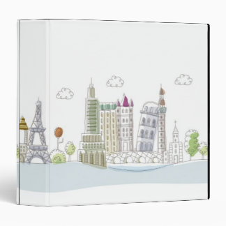 Famous Places of the World Binders