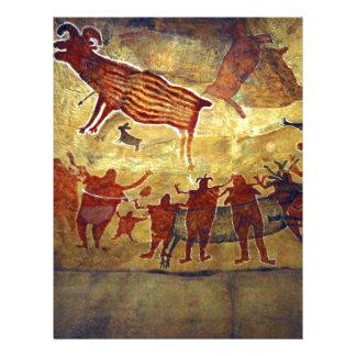Famous Pre-historic Ancient Cave Paintings Letterhead