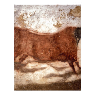Famous Pre-historic Ancient Cave Paintings Customized Letterhead