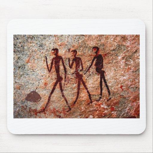 Famous Pre-historic Ancient Cave Paintings Mouse Pads